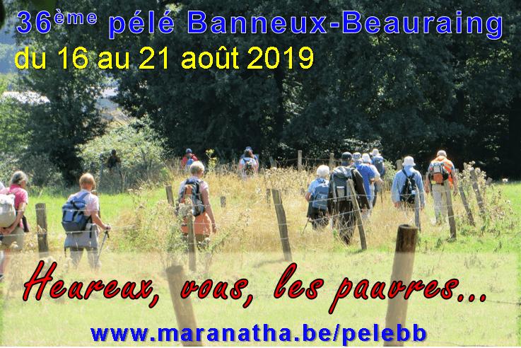 Pélé Banneux - Beauraing 2019