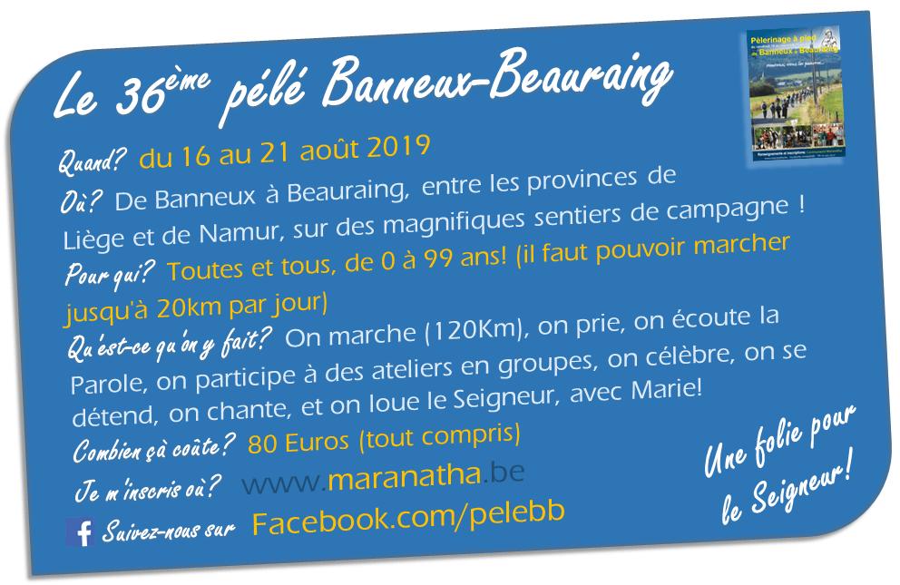 Pèlerinage Banneux Beauraing